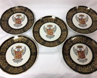 Eagle Crest Plates, Jackson China Co.
