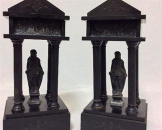 """Statuettes, 10"""" H."""