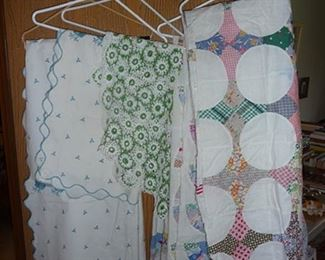 Linens and Quilts - $6  (quilts are sold)
