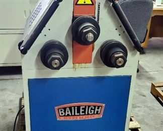 2011 Baileigh Industrial Hydraulic Roll Bender, Model # MAM-50/2, 220 V, Includes Foot Controls And Accesssories