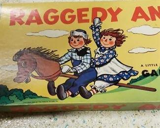 Milton Bradley Raggedy Ann Game $15
