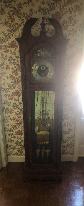 bad pic of grandfather clock