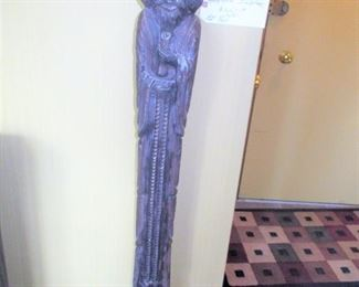 $350.00 metal Santos, 52 inches tall,