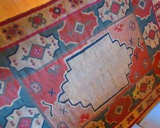 Vintage Flat Weave Rug  $325