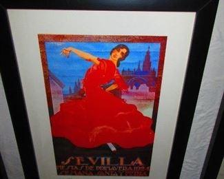 Sevilla Fiestas De Primavera 1924      $45