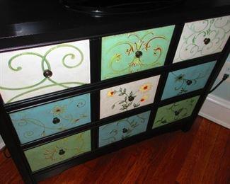 Whimsical Multi-drawer Cabinet $525