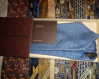Large selection of designer Mens Ties, Louis Vuitton, Hermes, Salvatore Ferragamo, Ermenegildo  Zenga