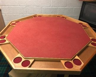Folding Poker Table - $175 -  NOW ONLY $100