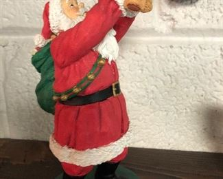 Ceramic Santa with Pooh Bear:  NOW ONLY $5