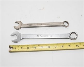 "T50	Set of 2 Misc. Wrenches Par-X 13/16"", Master Quality 11/16""                $14.95"