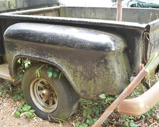 1955 - Chevrolet 3100 Truck, V8. Rebuilt Engine. Needs New Truck Bed, Some Rust. Great for Full Restoration Project, or Rusty Preservation Project.