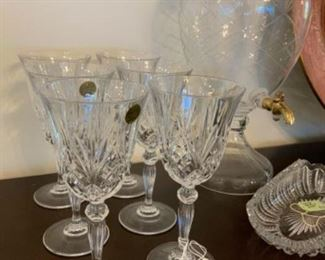 Vintage Capri Crystal (Italy) Set of 6 $36 (2 sets of 6 available)
