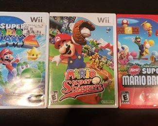 Wii Super Mario Brothers Video Games