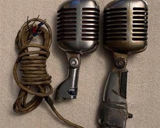Two Shure microphones https://ctbids.com/#!/description/share/405038