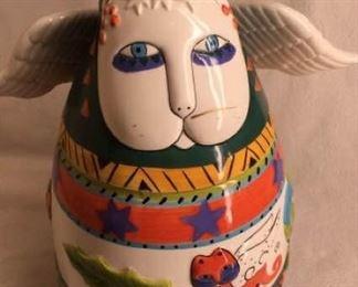 Laurel Burch Cat Cookie Jar https://ctbids.com/#!/description/share/405189