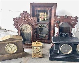 Vintage clocks/parts #1 https://ctbids.com/#!/description/share/405237
