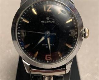 Helbros ''Invincible'' German Watch. Working condition. https://ctbids.com/#!/description/share/405044