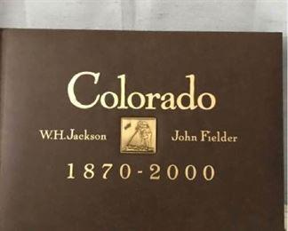 Colorado 1870-2000 John Fielder and W H Jackson https://ctbids.com/#!/description/share/405103