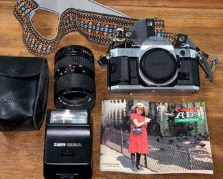 Vintage Canon AE-1 Program Camera https://ctbids.com/#!/description/share/405161