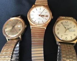 Trio of Vintage Watches https://ctbids.com/#!/description/share/405188