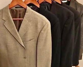 Six Men's Sport Coats, 42R https://ctbids.com/#!/description/share/405198