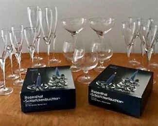Rosenthal Glass Collection https://ctbids.com/#!/description/share/405110