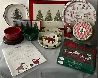 Christmas Decor Including Vintage Neiman Marcus Christmas Book https://ctbids.com/#!/description/share/405015