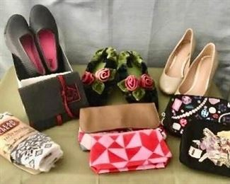 Ladies Shoes and Toiletry Bags https://ctbids.com/#!/description/share/405033
