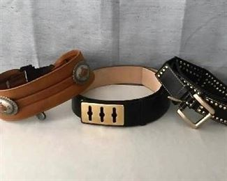 Ladies Designer Belts - St John too! https://ctbids.com/#!/description/share/405036
