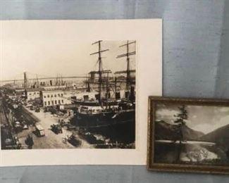 Pair of vintage photographs  https://ctbids.com/#!/description/share/405087