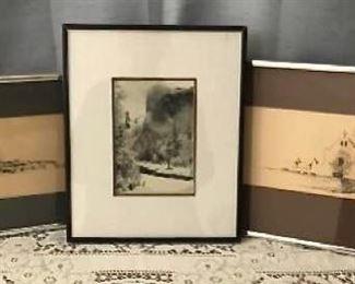 Ansel Adams and 2 Southwest Drawings  https://ctbids.com/#!/description/share/405102