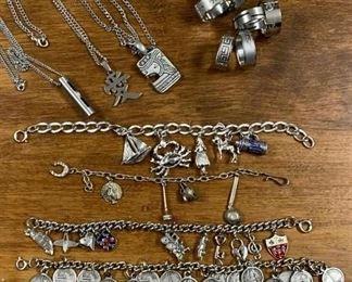 Chains, Rings and Charm Bracelets https://ctbids.com/#!/description/share/405144