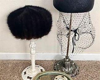 Vintage Hats, Compacts & more.... https://ctbids.com/#!/description/share/405220