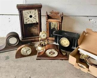 Vintage Clocks/parts #3 https://ctbids.com/#!/description/share/405239