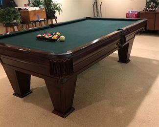 """Brunswick Billiards"" pool table (perfect condition)"