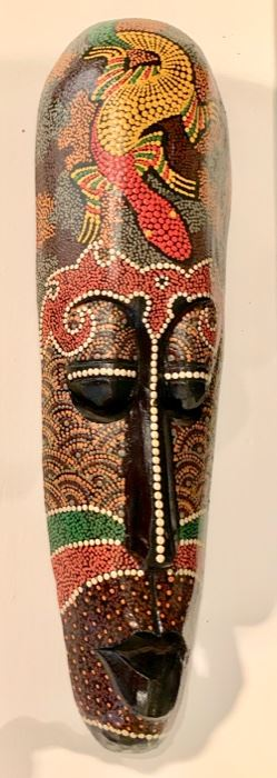 60. Painted Mask (19'') $ 20.00