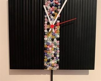 75. Murano Clock (10'' x 10'') $ 160.00
