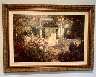 79. Decorative Art of Front Door (48'' x 36'') $ 110.00