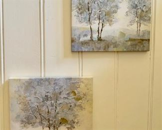 82. Pair of Decorative Canvases  $ 30.00
