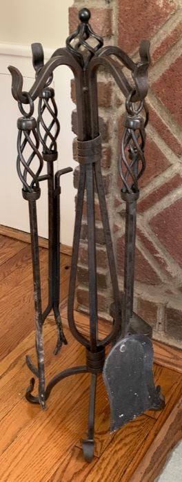 85. 5 Pc. Fireplace Tools  $ 100.00