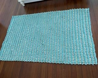 138. PB Teen Blue Rug (3' x 5') $ 40.00