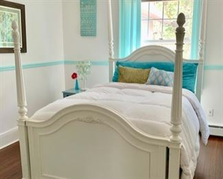 131. Young Americana 4 Poster Full Bed w/ 2 Storage Drawers  $ 700.00