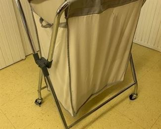 35. Rolling Laundry Hamper w/ Dividers $ 15.00