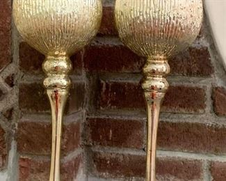 99. Pair of Goblet Candles (13'') $ 30.00