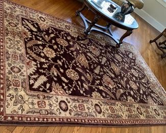 88. Handknotted Brown Rug (6' x 9'4'') $ 1,400.00