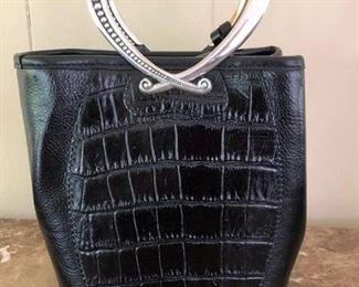 212. Brighton Black Handbag $ 25.00