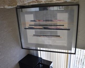 Modern signed artwork