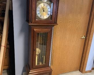 Grandmother clock Ridgeway Westminster  Chimes run great and it was just serviced