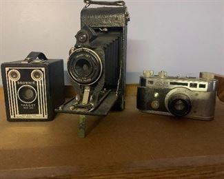 Great vintage cameras.