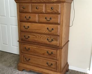 Wynwood oak chest on chest-SOLD